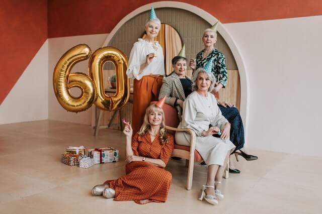 רעיונות ליום הולדת לגיל 60