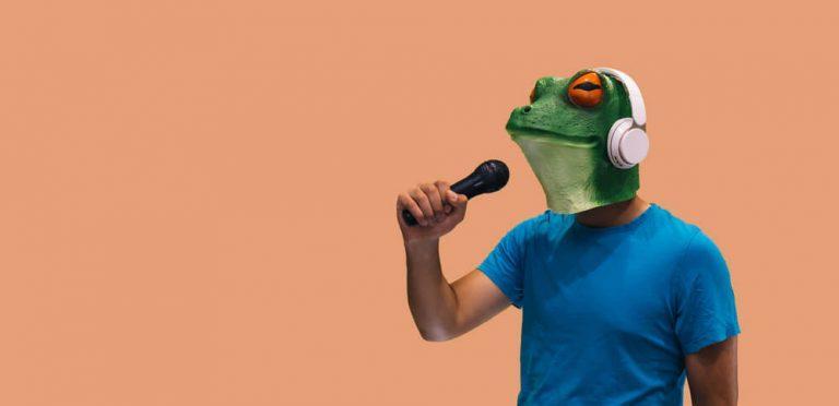 הזמר במסיכה